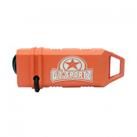 GI Molded Barrel Cover - Orange/White