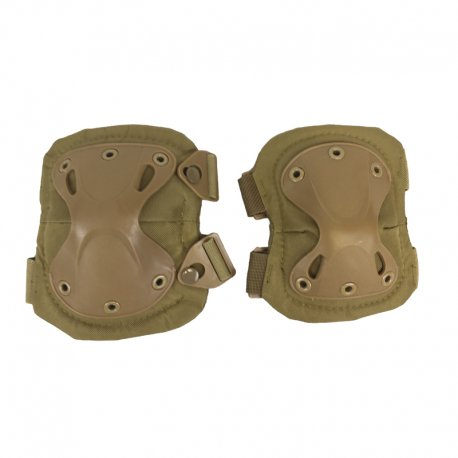 Knee and Elbow Pad Set - Tan by Killhouse Weapons Systems