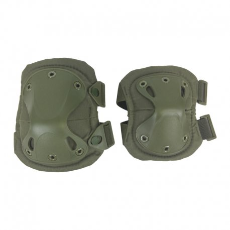 Knee and Elbow Pad Set - OD by Killhouse Weapons Systems