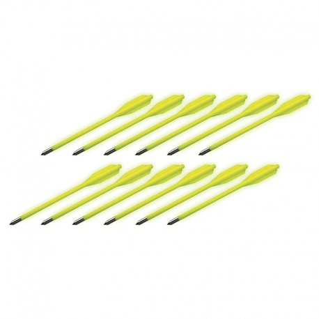 BOLT Crossbows Glow in the Dark Bolts 12 pack