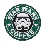 Morale Patch - Star Wars and Coffee
