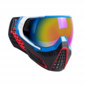 HK Army KLR Paintball Mask - RGLN - Blue/Red/White