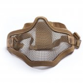 ASG Metal Mesh Half-Mask - Tan