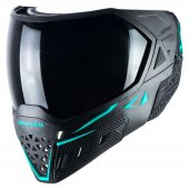 Empire EVS Paintball Mask - Black/Aqua