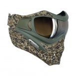 VForce Grill SE Paintball Mask - Circuit Camo Earth