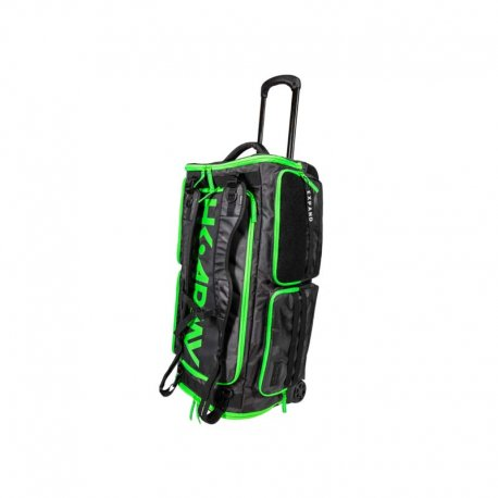 HK Army Expand 75L - Roller Gear Bag - Black/Neon Green