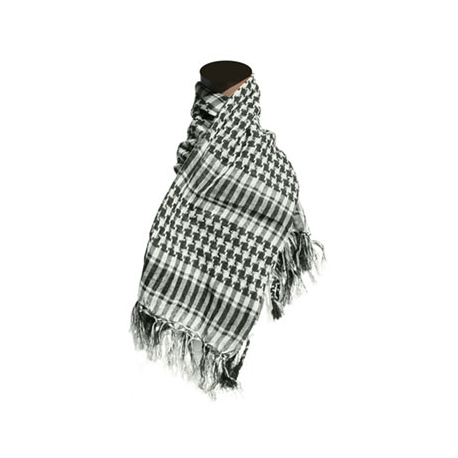 Shemagh - Checkered Black/White
