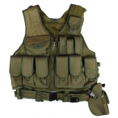 Gen-X Airsoft Tactical Vest Olive