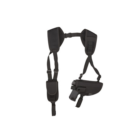 Airsoft Pistol Shoulder Holster Black