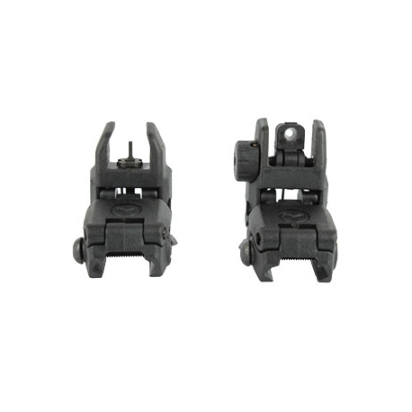 MBUS PTS Back-up Sights - Opened