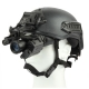 Hinged Helmet Mount for Night Vision Goggles with PVS-14 Style NVGs (Sold Separately)