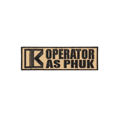 Patch - Operator - Tan