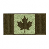 Patch - Canadian Flag - 4X2 - Olive