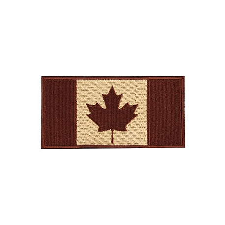 Patch - Canadian Flag - 4X2 - Earth
