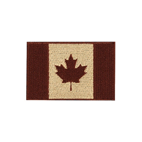 Patch - Canadian Flag - 3X2 - Earth