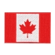 Patch - Canadian Flag - 3X2 - Red