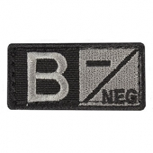 Condor Patch - Blood Type B- Black