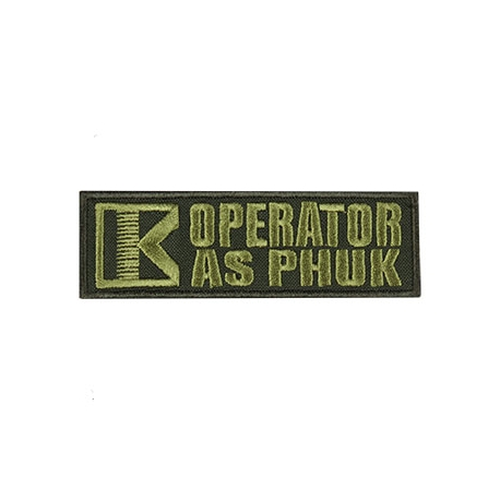 Patch - Operator - Green