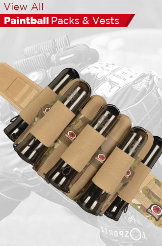 Paintball Packs Vests Harnesses