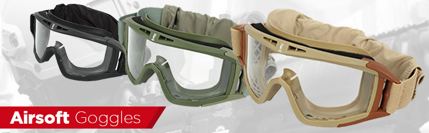 Airsoft Goggles Badlands Paintball