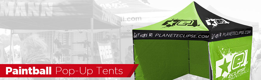 Paintball Pop Up Tents