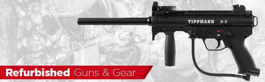 Refurbished Gear Paintball Airsoft Badlands