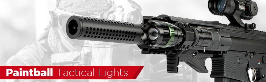 Paintball Tactical Flashlights