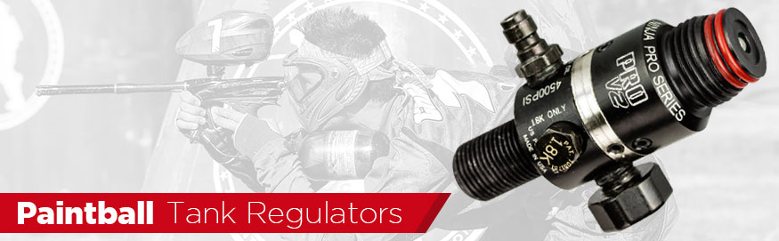 paintball air tank regulators