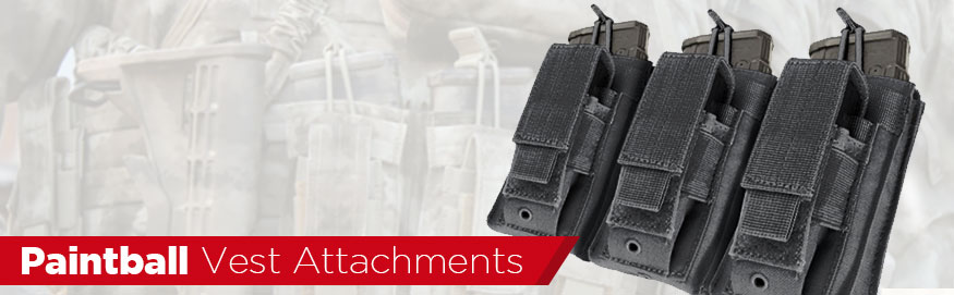 Paintball Tactical Vest Attachments MOLLE
