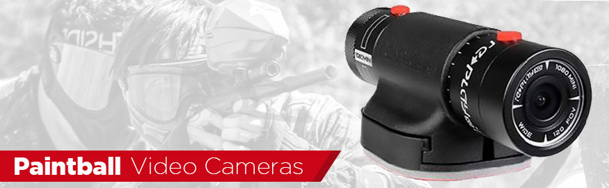 Paintball Video Cameras