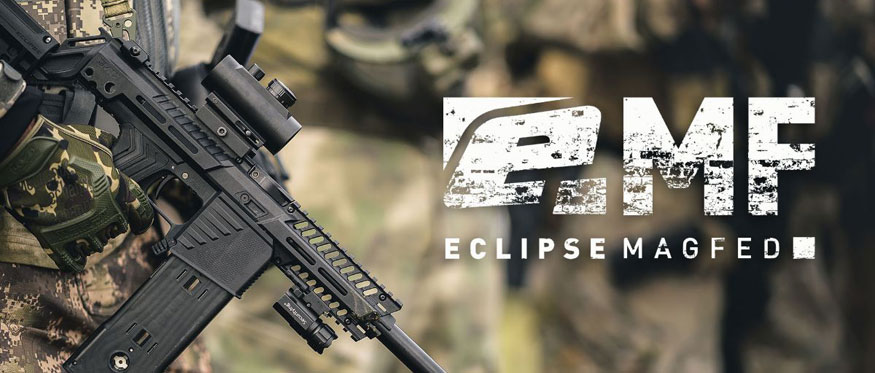 Planet Eclipse EMF 100 Mag Fed Paintball Gun Banner