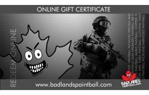 Badlands Online Gift Card