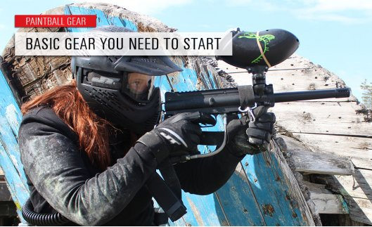 The essential basic gear you need to start playing paintball!
