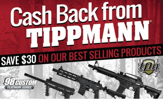 The Tippmann $30.00 Off Mail-In Rebate is back for 2015!